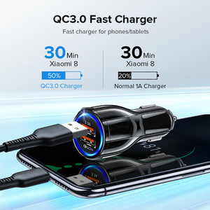 Image 5 - GETIHU 18W 3,1 EIN Auto Ladegerät Dual USB Schnelle Lade QC Telefon Ladegerät Adapter Für iPhone 12 11 Pro max 6 7 8 Xiaomi Redmi Huawei