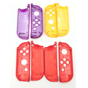 Image 2 - 1 Pair Purple Orange for Nitendo switch NS JoyCon Joy Con Controller Housing Shell Case for Nintendo Switch Red Cover