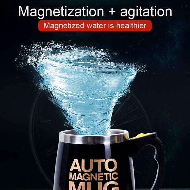 USB Rechargeable Automatic Self Stirring Magnetic Mug 2