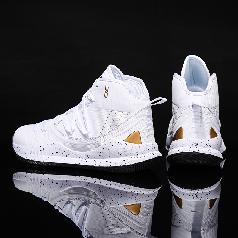 Cushioning-Light Basketball-Shoes High-Top Jordan Outdoor Male Breathable Men Zapatos title=