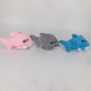 Size 12CM Approx. Ocean Animal Plush Toy , Mini Key chain Gift Toys Dolls(China)