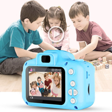 Children Mini Digital Camera Kids Educational Toys Photo 1080P Projection Video for kids Birthday Gifts