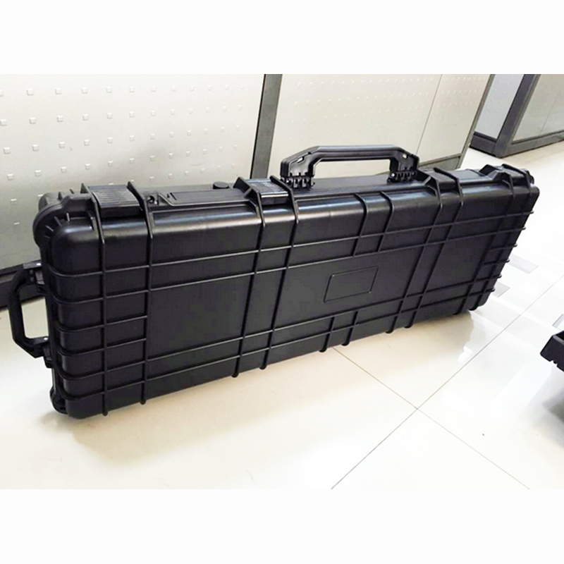 Купить с кэшбэком long Tool case gun case large toolbox Impact resistant sealed waterproof case equipment  88 sniper rifle case with pre-cut foam