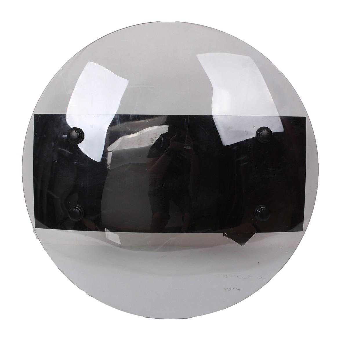 Прозрачный ручной щит Safurance из поликарбоната, защита от бунтов, Самозащита