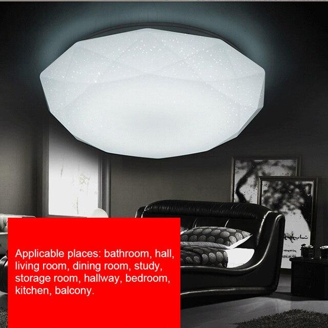 Светодиодный потолочный светильник LB88, лампа в форме алмаза для прихожей, гостиной, кухни, спальни, поверхностного монтажа, 12 Вт/18 Вт/24 Вт/15 Вт/30 Вт