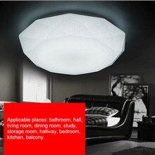 LED tavan lamba aksesuarı elmas şekilli işık koridor oturma odası mutfak yatak odası yüzeye monte 12W/18W/24W/15W/30W LB88