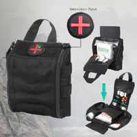 Черный Тактический лазерный прицел Molle Набор предметов на случай чрезвычайной ситуации аптечка первой помощи мешочек инструментальный рем...