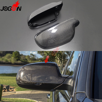 Carbon Fiber For Audi A3 S3 8P 10- 2012 A4 S4 RS4 B8 8K ( B8.5 ) A5 S5 RS5 2011-15 Side Rearview Mirror Caps Cover Shell Replace