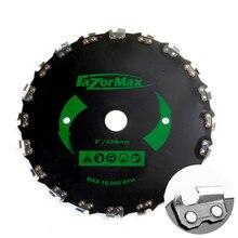 Decespugliatore universale da 230mm testina per decespugliatore con velocità massima della catena 10000 giri/min per decespugliatore