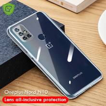 CHYI Camera Lens Protection Cover For Oneplus nord N10 Case Soft Clear Silicone For one plus 8T 8 pro 5G Shockproof Back Cover
