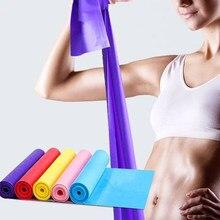 59x5.9 Polegada faixa de resistência de yoga banda de exercício faixas de estiramento de treino para fisioterapia fitness pilates faixa de resistência