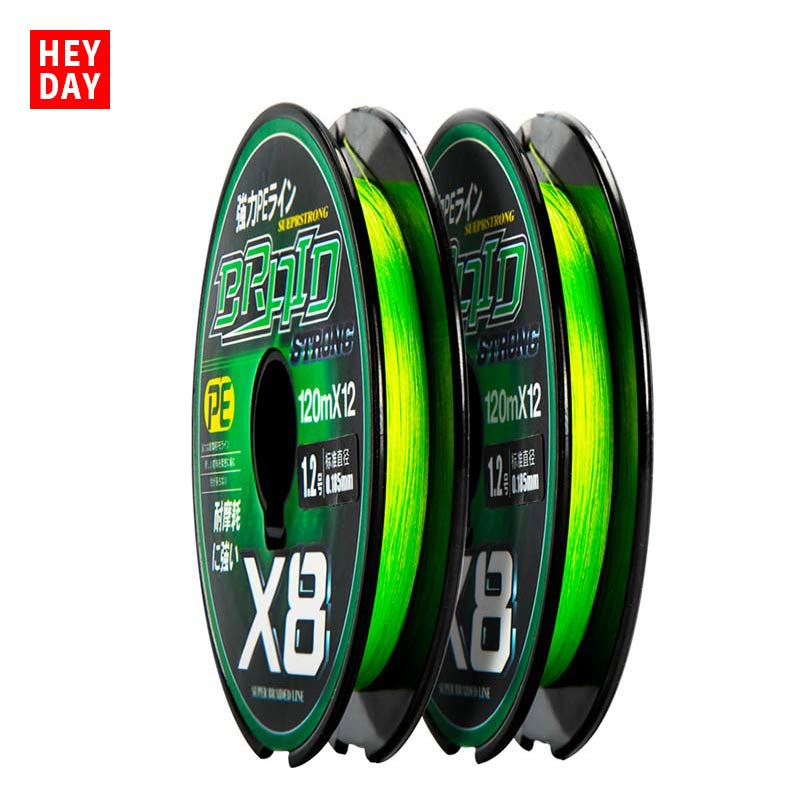 XIANDAI X8 PE 120m Fishing Line Boat Rock Beach Fishing Line Super Strong Pull Braided Line Cope Long Shot Fishing Line|Fishing Lines| |  - title=