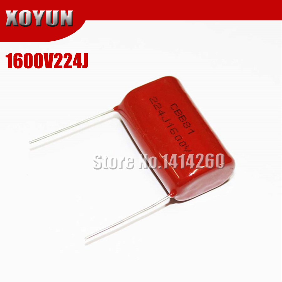 50PCS CBB81 152J 2000V 0.0015UF 1.5NF P15 Metallized Film Capacitor