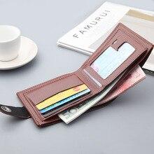 Folded Men's Wallet Hasp…