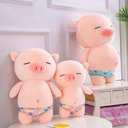 25 см/70 см сексуальная свинья плюшевые игрушки мягкие игрушки милые животные плюшевая песчаная пляжная свинья Подушка куклы игрушки для дет...