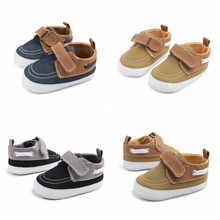 Boys Baby Shoes Sneakers Baby Shoes Breathable Canvas Shoes