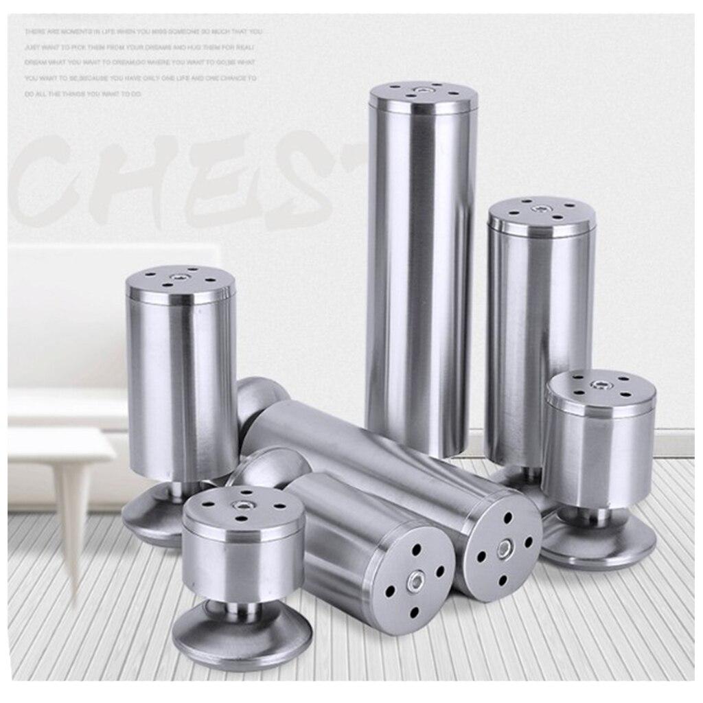 4x Adjule Stainless Steel Furniture