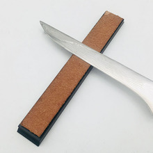 Mens shaving leather canvas strap barber straight razor cut
