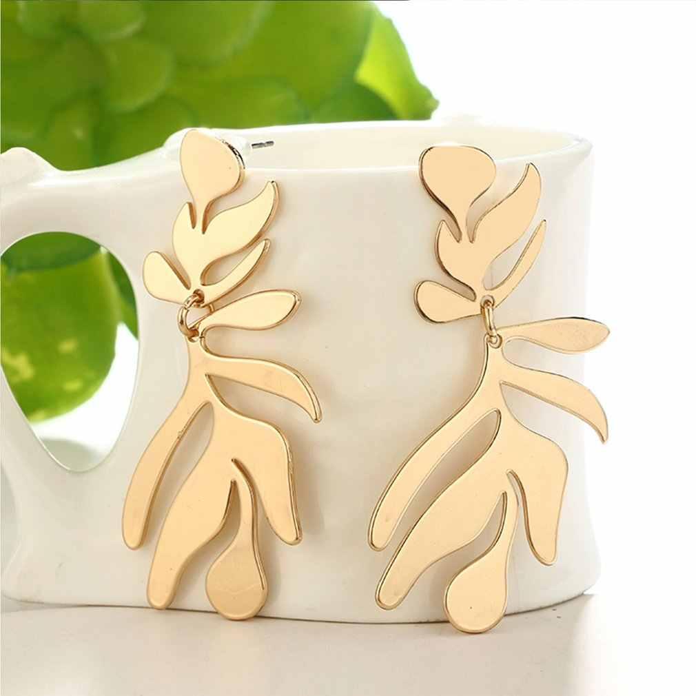 Bijoux à bricoler soi-même accessoires alliage 2020 nouveau AB couleur Satellite lune Double pendaison boucles d'oreilles pendentif mode bijoux colorés