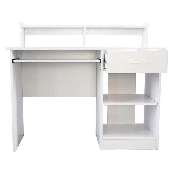 General Style Modern E1 15MM Chipboard Computer Desk White Concise,  Standing Desk Laptop Desk Office Desk Study Table.