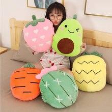 40 см мультфильм Мягкие плюшевые игрушки креативные фрукты и