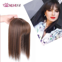 Парик huaya на половину головы для женщин невидимый парик волос