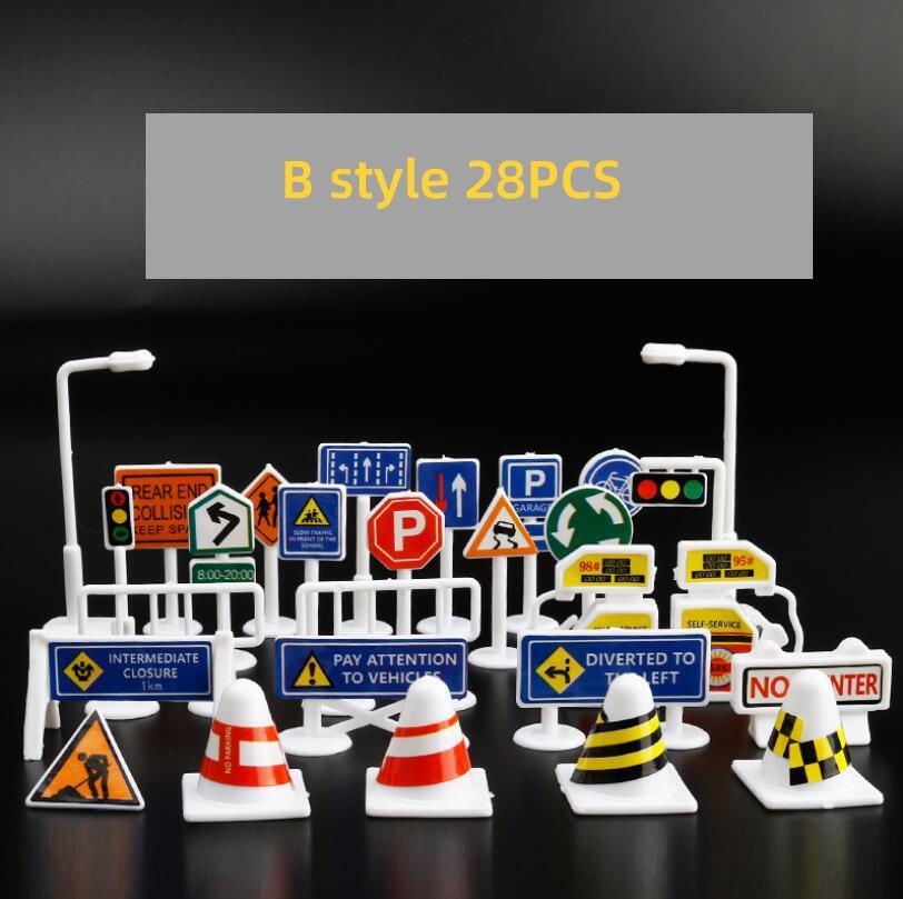 28pcs sign B