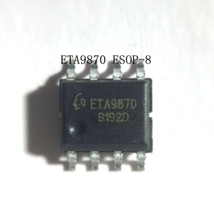 10PCS~50PCS/LOT  ETA9870E8A   ETA9870  SOP8  New Original   Power Bank Chip