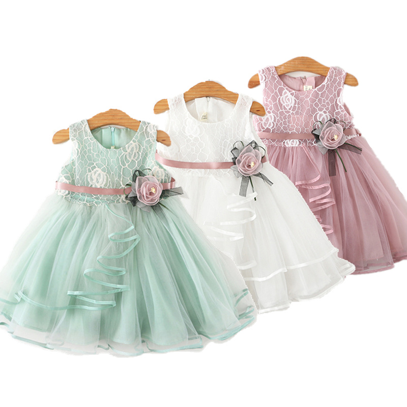 Baby Girls Dress Casual Costume Kids Dresses For Girls Flower Baby Dress Girl Party Little Princess Tutu Summer Dress Vestidos