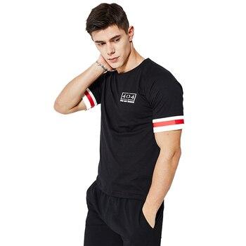 European Summer Short Sleeve T-Shirt suit men's sports suit casual large short sleeve T-shirt + short pants short sleeve suit