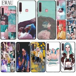 EWAU Halsey Colors Lyrics Badlands Silicone phone case for Samsung A2 Core A5 A6 plus A7 A8 A9 A10s 20s 20E 30s 40s 50s 60 70S(China)