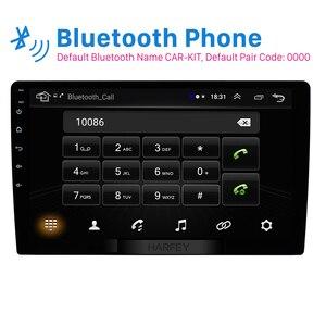Image 2 - Автомобильный мультимедийный плеер Harfey 2Din, 9 дюймов, Android 8,1, GPS навигация, HD 1024*600, поддержка MirrorLink, SWC, DVR, задняя камера