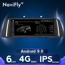 NaviFly-راديو السيارة Android 9 ، 10.25 بوصة ، IPS ، CIC/NBT ، مشغل الوسائط ، لسيارات BMW 5 Series F10 ، F11 ، 520i ، 528i ، 525i ، 530i ، 535i (2011-2016)