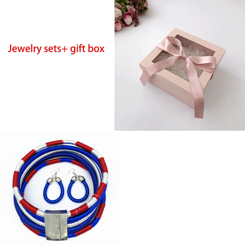 blue set and box