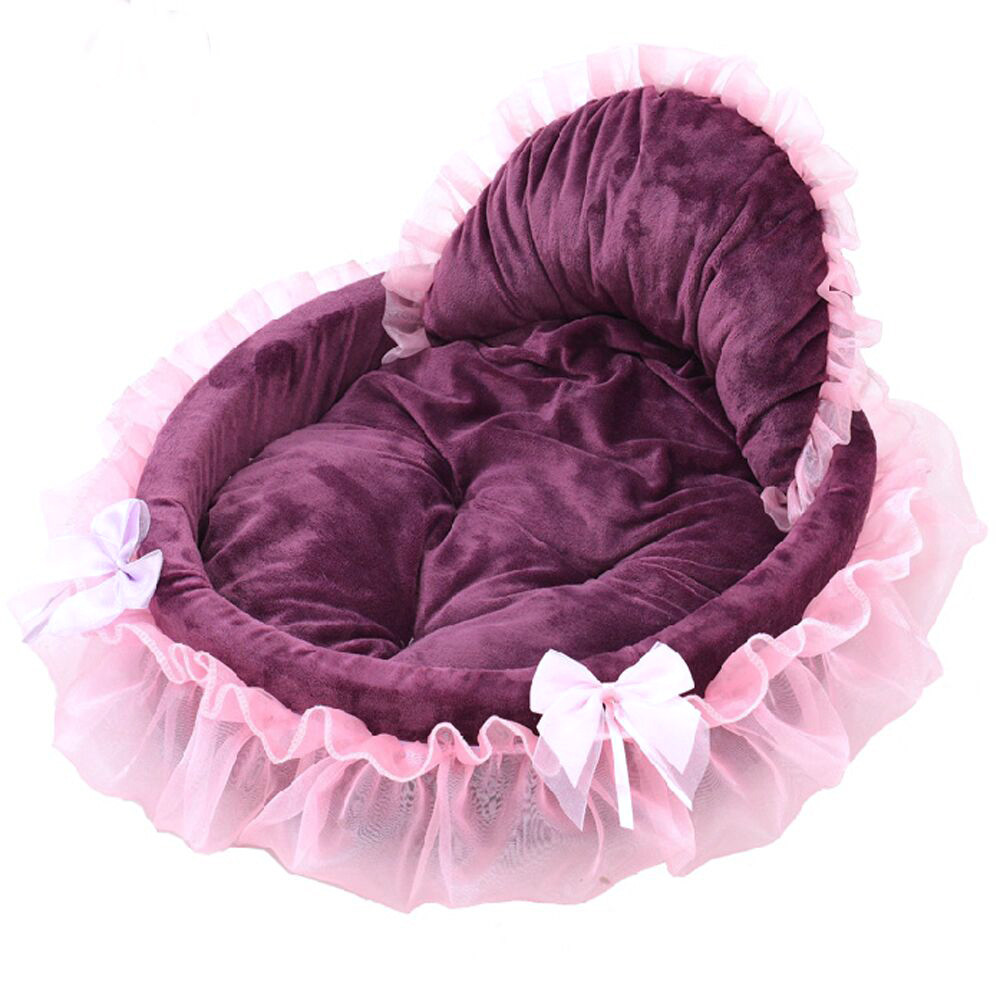 Cute Small Dog Beds Purple