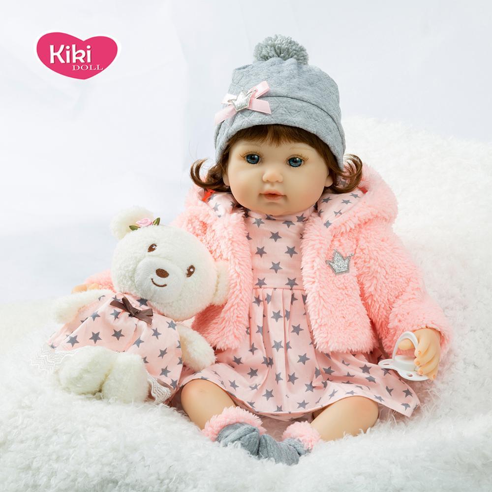 Bebe reborn Мягкая силиконовая настоящая сенсорная Детская кукла Реалистичная игрушка reborn игрушка для малышей куклы для детей на день рождения, рождественский подарок, популярный|Куклы|   | АлиЭкспресс