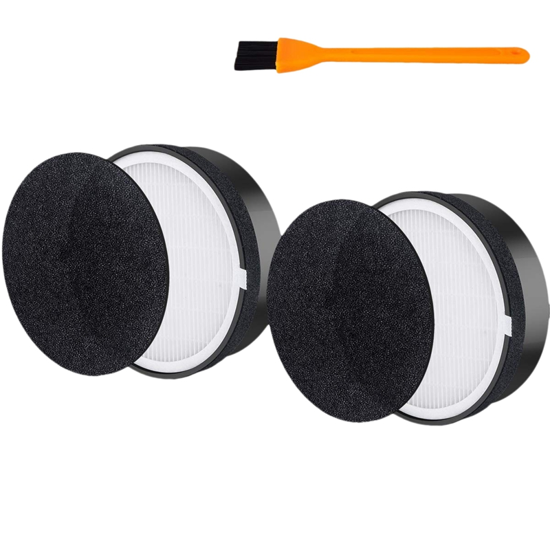 HOT!2 Packs Air Purifier Replacement Filter For Levoit Lv-H132 True Hepa And Activated Carbon Filters Set Compatible With Part L
