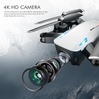 Lues' House RC Drone With 4K/1080P HD Camera