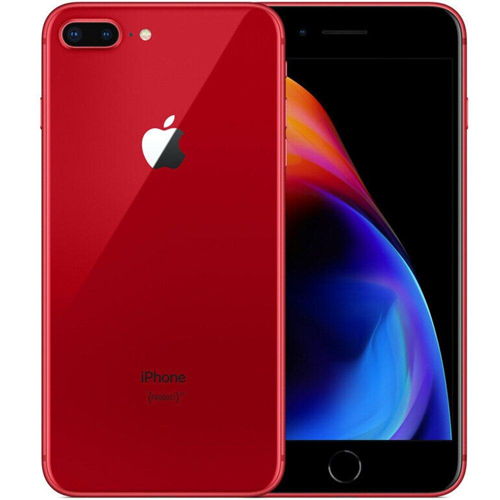"Original apple iphone 8 plus 5.5 ""ios 4g lte ram 3gb rom 64/256gb hexa núcleo 12mp toque id impressão digital telefone celular smartphone 3"