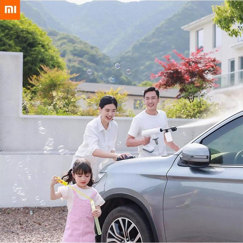 Xiaomi Mijia Lekong Electric Spray Gun Wireless Car Wash Clean Gun Garden High Pressure Water Gun Machine Sprinkle Tools For Car Smart Remote Control  - AliExpress