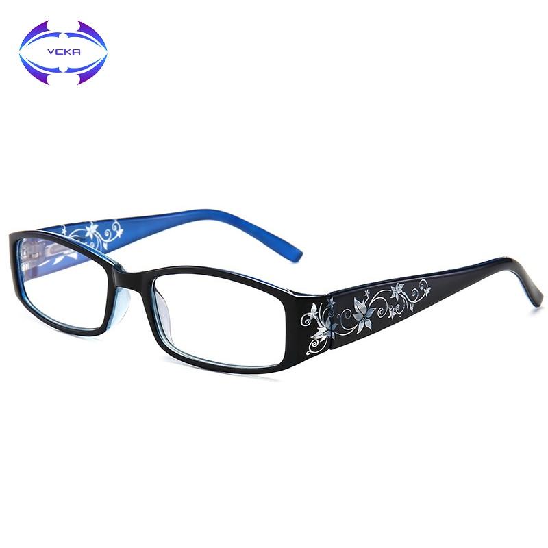 VCKA Blue-light-proof Reading Glasses Presbyopia Prescription Glasses Parents Presbyopic Magnification +1.0 +1.5 +2.0 +2.5 +3.0