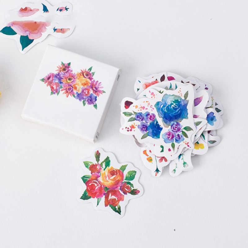 ورق لاصق محاصر الزهور الإبداعية المساعد الشخصي الرقمي ألبوم الديكور ملصقات صناعة يدوية 45 ورقة في 3 حزمة محاصر