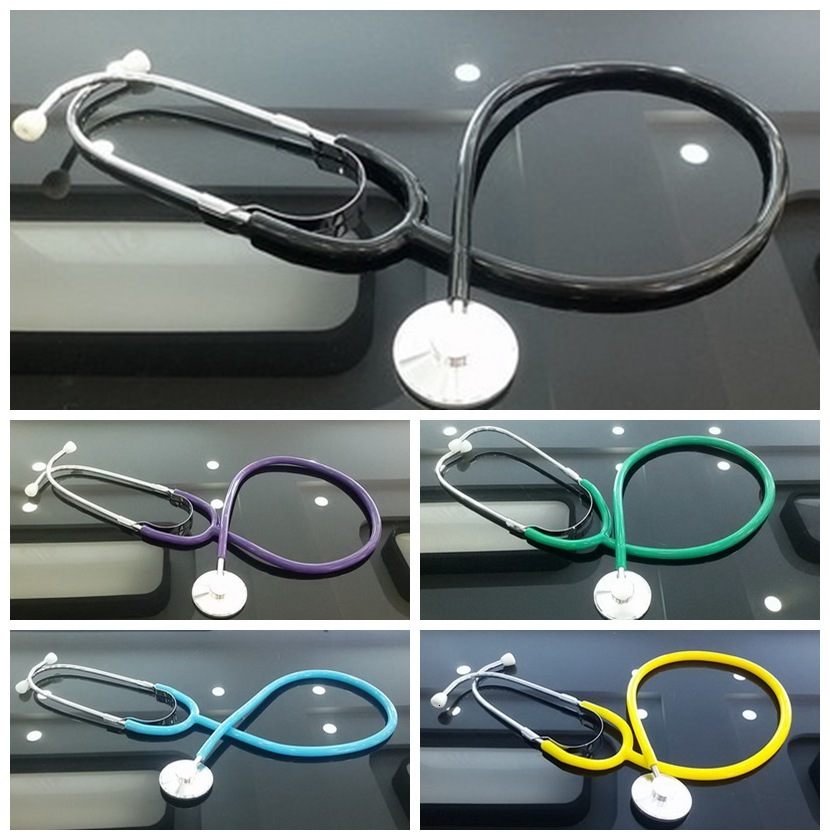 9Colors Pretend Play Doctor Toys Kids Cosplay Simulation Stethoscope Medical Toys for Children Educational Teaching Aids image