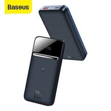 Baseus Power Bank 10000mAh Portable 20W Charging Power Bank Magnetic Wireless Quick Charging