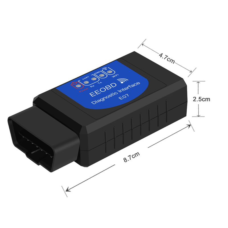 2Pcs Mini ELM327 V2.1 OBD2 OBDII Bluetooth Adapter Auto Scanner TORQUE ANDROID V