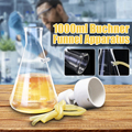 Kicute 1000ml Vacuüm Zuig Filtratie Apparaat Buchner Trechter Borosilicaatglas Trechter Kolf Chemie Laboratorium Benodigdheden