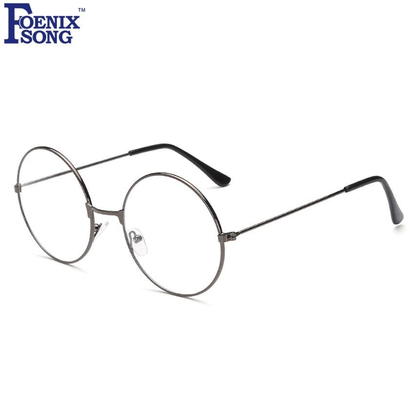 New Men Women Reading Glasses Retro Eyewear Feminino Oculos Gafas De Lectura Vintage Gold Frame Round