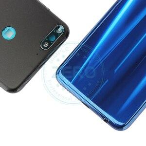 Image 2 - Oryginał dla Huawei Y7 Prime 2018 tylna pokrywa baterii tylna obudowa dla Huawei Nova 2 Lite wymiana baterii części zamiennych