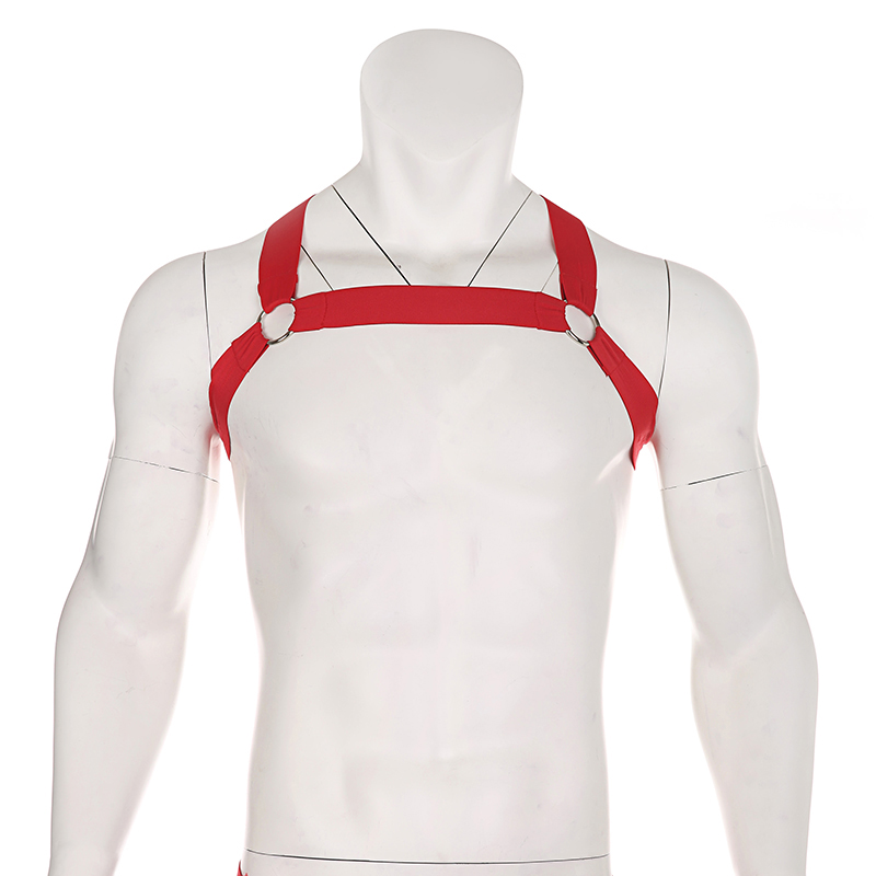 Sexy Harness Straps Bondage Belt Underwear Men Fetish Hollow Lingerie Elastic Erotic Performance Costume Harness Hombre