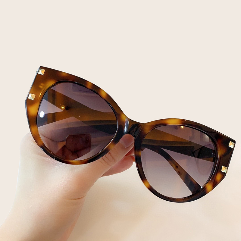 Trendy Cat Eyes Sunglasses High Quality Unique Vintage Ladies Sun Glasses Outdoor Protection Shades Zonnebril Dames